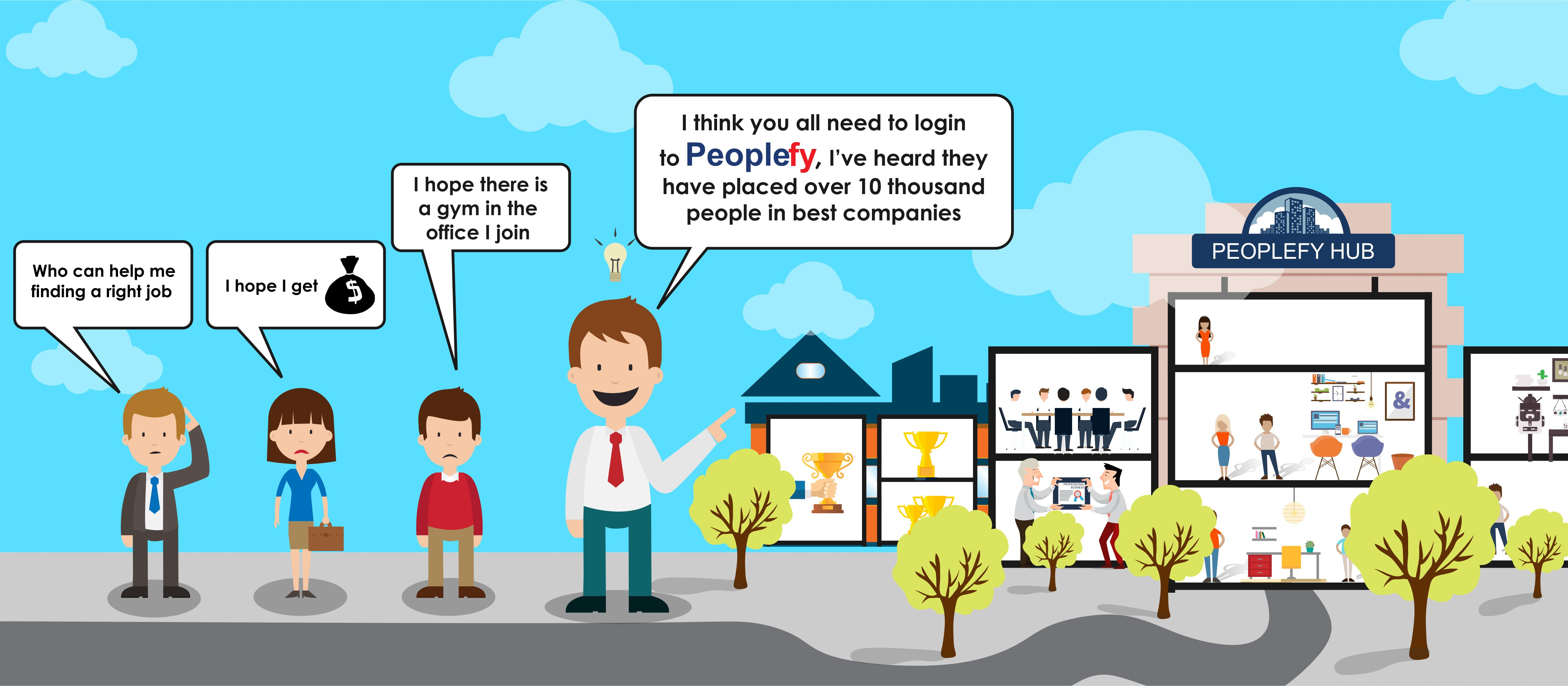 Peoplefy is best among the all recruitment services in Pune